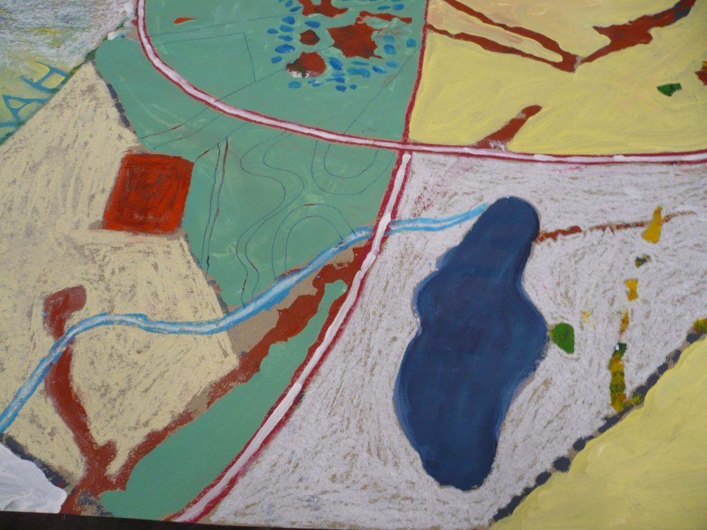 Teachers painting workshop Central Tafe4 jpg